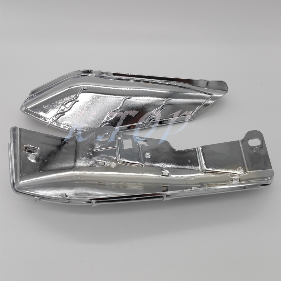 Covers & Ornamental Mouldings Intellective Chrome Motorcycle Airmaster Accents Trims For Mid-frame Air Deflectors Fit For Harley Touring Fl Models Cool In Summer And Warm In Winter