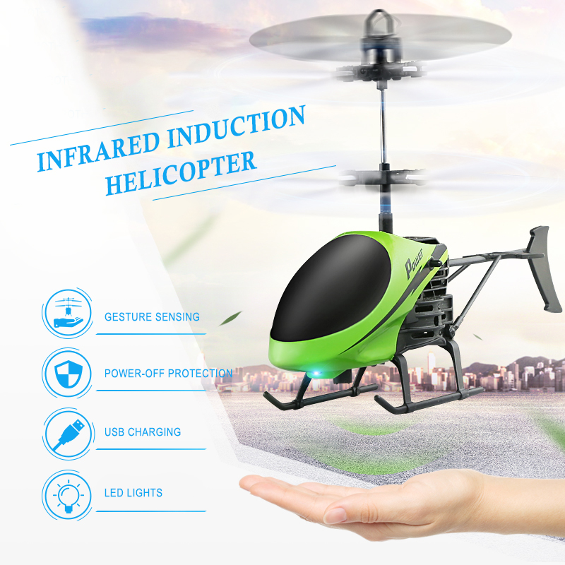 RC Drone Flying Helicopter Aircraft Drone Aircraft Sensing Mini Induction Drone Kids Electric Electronic Toy Free Shipping TSLM2