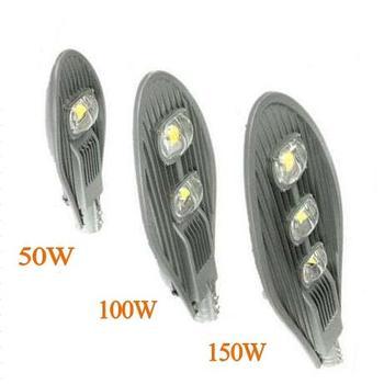 10 Piezas COB 50 W 100 W 150 W Led Calle Luz Impermeable IP65 AC85-265V Ingeniería Industrial Iluminación Al Aire Libre Camino Lámpara
