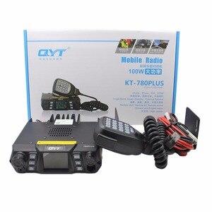 Image 5 - QYT Mobile Radio KT 780PLUS VHF 136 174MHz or UHF 400 480MHz 100W /75W Walkie Talkie KT780PLUS transceiver