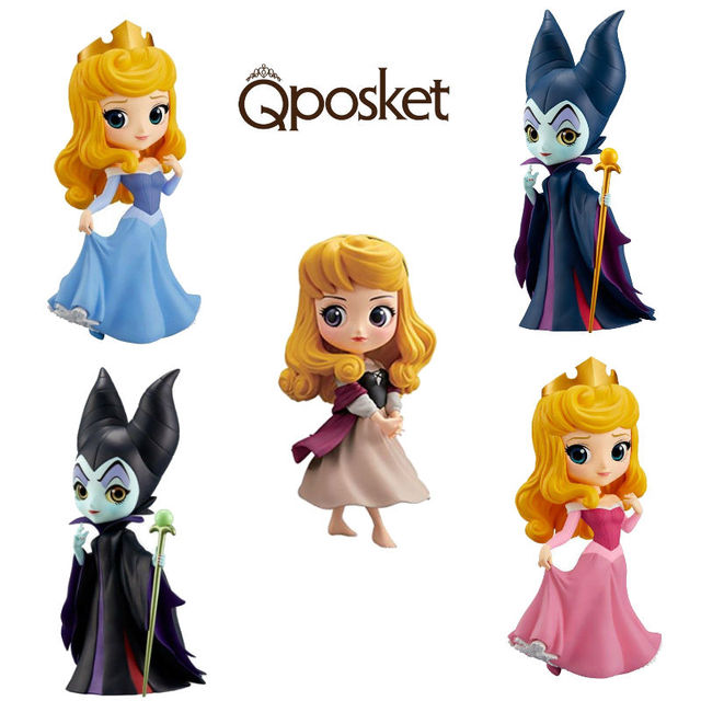 US $8 1 8% OFF|Q posket Characters Maleficent Version Princess Aurora toy  figure -in Action & Toy Figures from Toys & Hobbies on Aliexpress com |