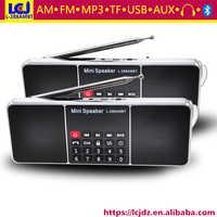 L-288AMBTスーパー低音ステレオサウンドポータブルミニワイヤレスbt bluetoothスピーカーでmp3音楽オーディオプレーヤーamラジオとfmラジオ