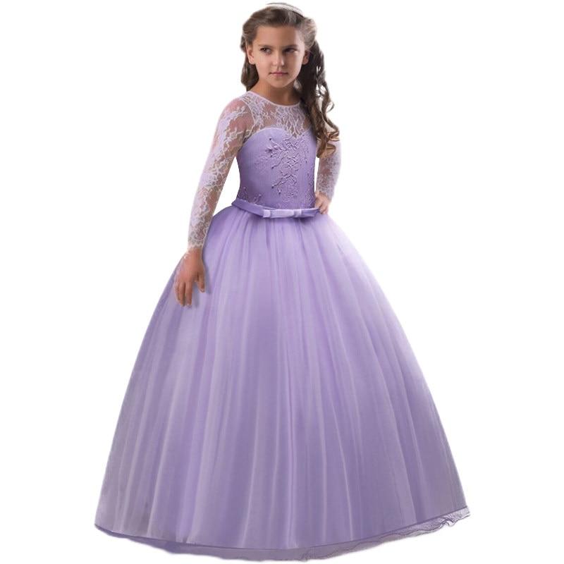 Tienda Online Niñas vestido formal de la boda del partido niños ...