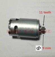 11 الأسنان موتور RS-550 14.4 V استبدال لبوش GSR14.4-2-LI 2 GSR18-2-LI 18 V الحفر الكهربائية