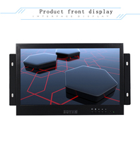 10 inch LED open embedded security LCD monitor HDMI computer monitor BNC interface HD monitor