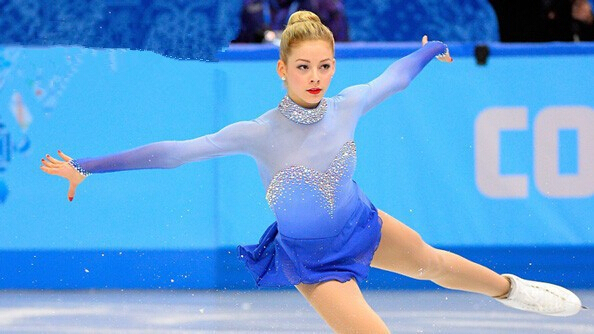figure skating clothing blue ice skating dress custome hot sale girls skating suit free shipping diamonds