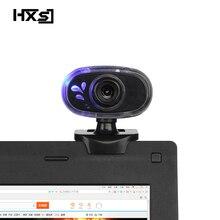 HXSJ אופנה HD Webcam 12 m פיקסלים 360 תואר סיבוב מחשב אינטרנט מצלמה A881 מובנה מיקרופון למחשב מחשב נייד למצלמות
