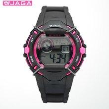 JAGA Men Sports Watches Movement Multifunction Electronic Watch 100 Meters Waterproof Watches Diver Sports Watch Regarder M872