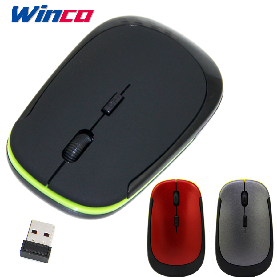 Wireless Mouse Fashion U-Shaped 2.4GHz Wireless Mouse 1600DPI Optical Mouse For Computer