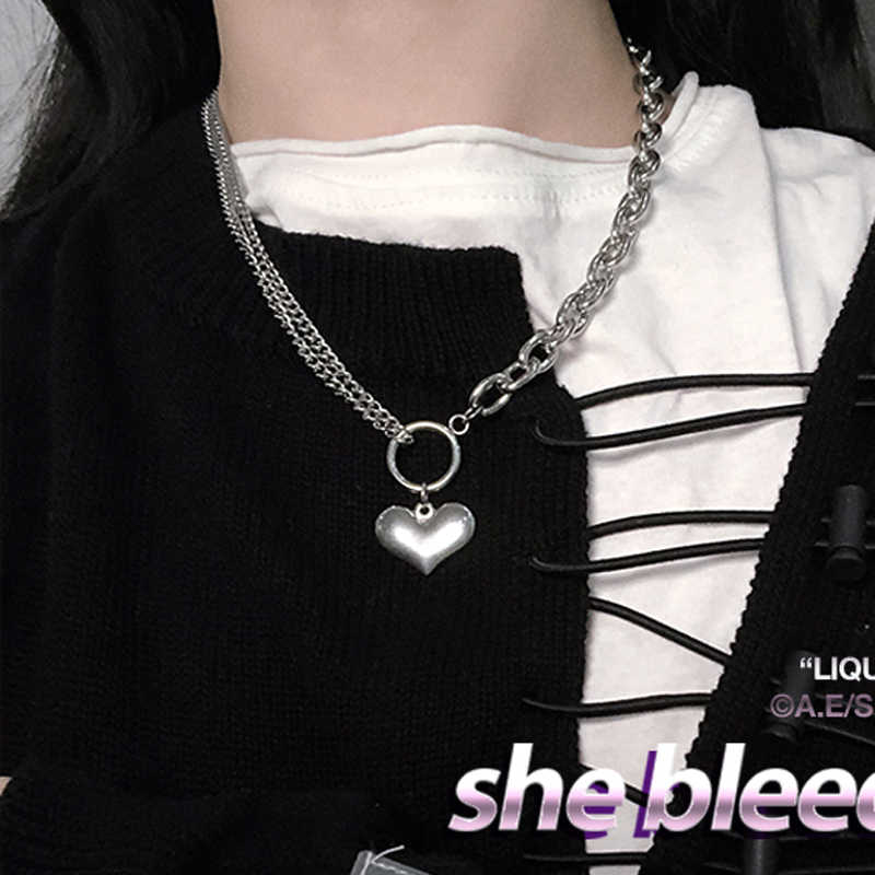 hip hop chain men women couple necklaces Necklace Waterproof Men Link Curb Chains necklace hip hop jewelry stainless steel chain