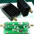 1 MHz-700 MHZ 3.2 W HF Amplificador de Potencia de RF Para El Jamón de Radio VHF UHF FM transmisor + Disipador de Calor