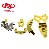 For HONDA CBR1000 2008 2014 2009 CNC Aluminum Motorcycle Steering Damper Stabilizer Bracket Mounting Support Kit Holder