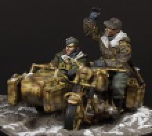 pre order-Resin toys 35086 German motorcycle crew Free shipping pre order resin toys lf0118 kangaroo free shipping