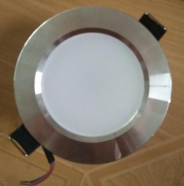 Светодиодные светильники светодиодные супер яркий Встраиваемые dimmable светильники удара 3 Вт 5 Вт 7 Вт светодиодный прожектор потолочный свет...