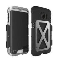 Metal Armor King 360° Shockproof Flip Up Case For Samsung Galaxy S8 S9 S10 S10+ Flip Aluminum Metal King Phone Case