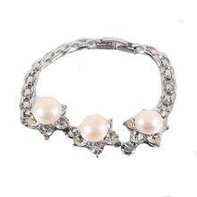 10-11 мм настоящий натуральный пресноводный барочный жемчуг браслеты и браслеты для женщин бусины ювелирные изделия подарок браслеты для женщин