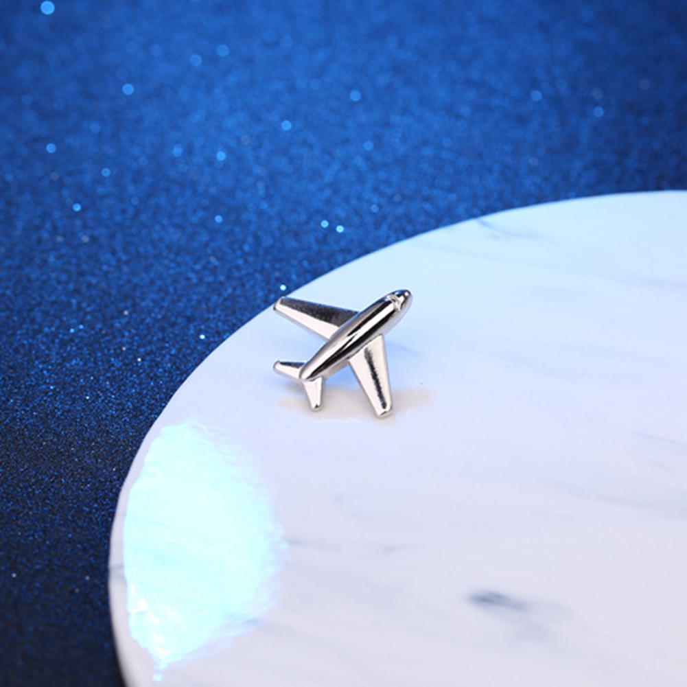 Vintage Simple Alloy DIY Leaf Plane Brooch Breastpin Gold Silver Men's Collar Lapel Pins Suit Accessories Jewelry For Women Gift 9