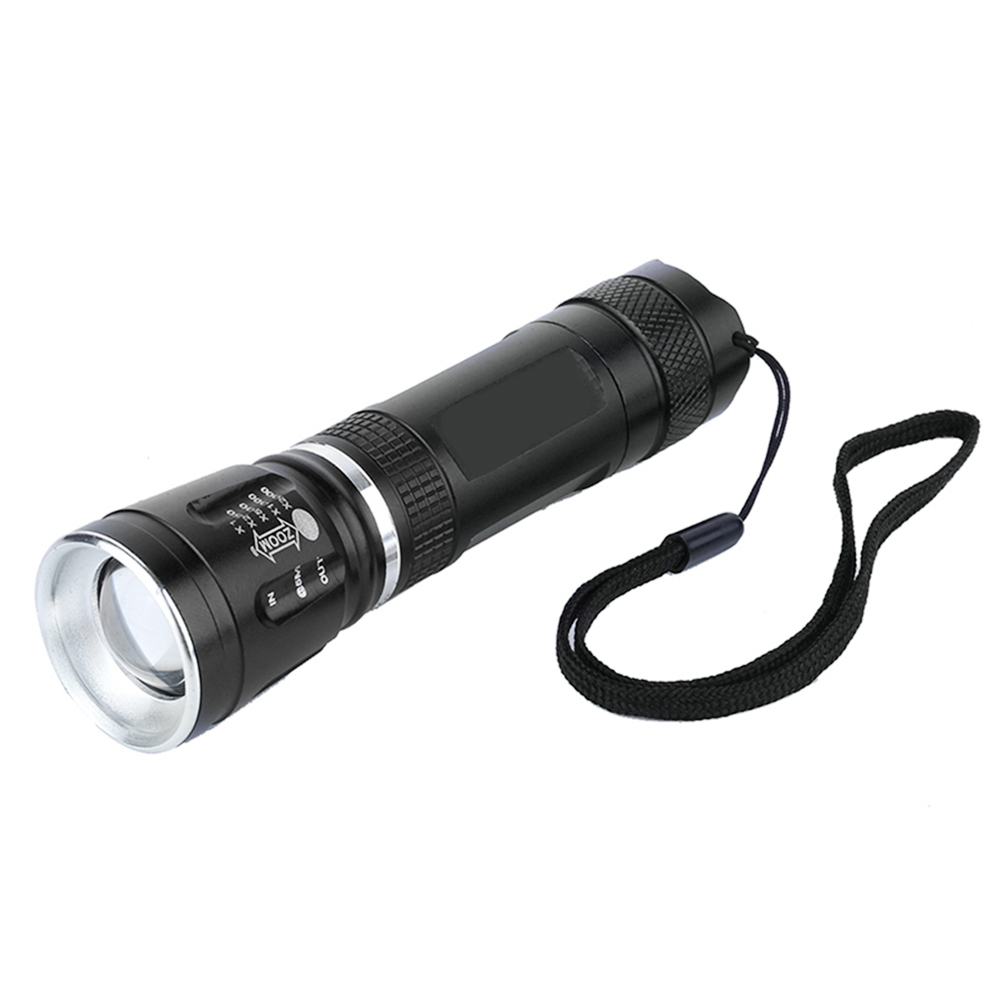 Zoomable LED Flashlight 18650 3-Modes Tactical LED Torch Light 200 Meter Waterproof Portable Mini penlight Bike Lamp Camping free shipping cree led flashlight 3 modes zoomable torch penlight flashlight portable lighting