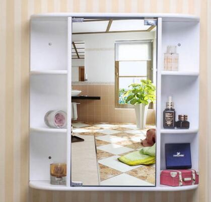 Bathroom mirror cabinet. Wash gargle. Condole ark. Hangs ark wall. Receive ark