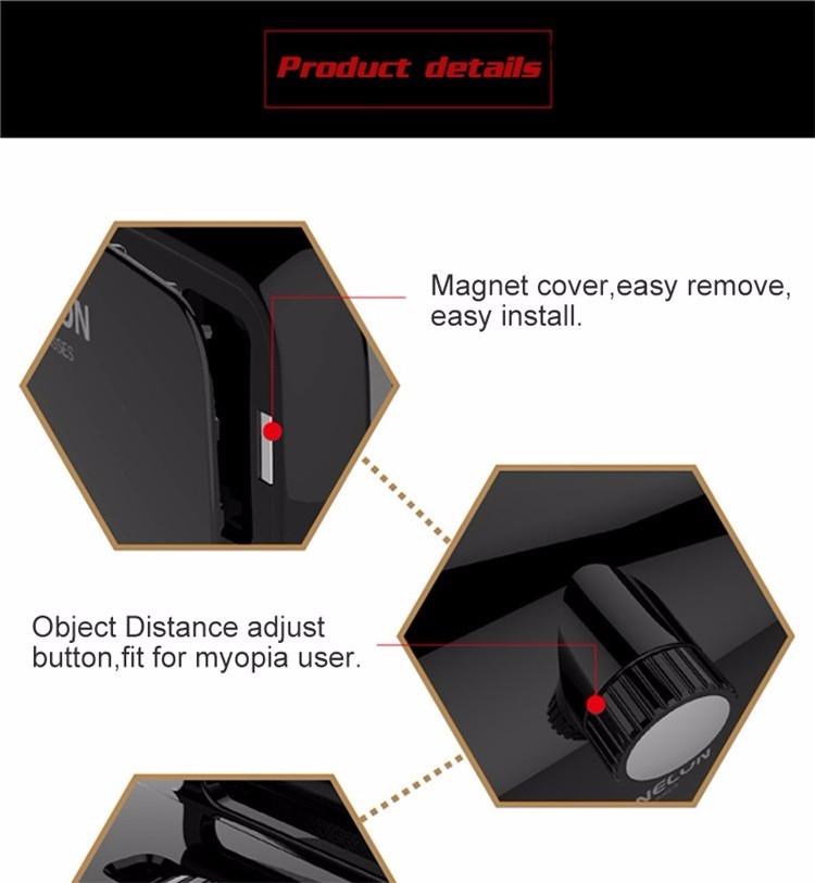 18 Original Shinecon VR Pro Virtual Reality 3D Glasses Headset VRBOX Head Mount Google Cardboard Helmet For Smartphone 4-6inch 21