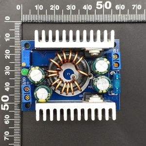 Image 4 - DC/DC Boost Converter 8 32V 12v Step up to 24v 9 46V 150W 8A Power Supply Module