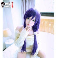 HSIU High Quality LoveLive Love Live Cosplay Wig Nozomi Tojo Costume Play Adult Wigs Halloween Anime