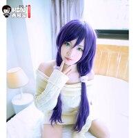HSIU High Quality LoveLive Love Live Cosplay Wig Nozomi Tojo Costume Play Adult Wigs Halloween Anime