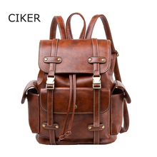 Ciker женские PU Рюкзак Мода корейский стиль сумка для девочек-подростков школьные сумки милые дорожная сумка оптовая продажа