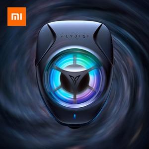 Image 1 - Xiaomiโทรศัพท์มือถือCooler 3 ระดับโทรศัพท์Heat Sink CoolingพัดลมRGB BacklightสำหรับiPhone XS MAX/XS/XR/8/7/6 Huawei Samsung