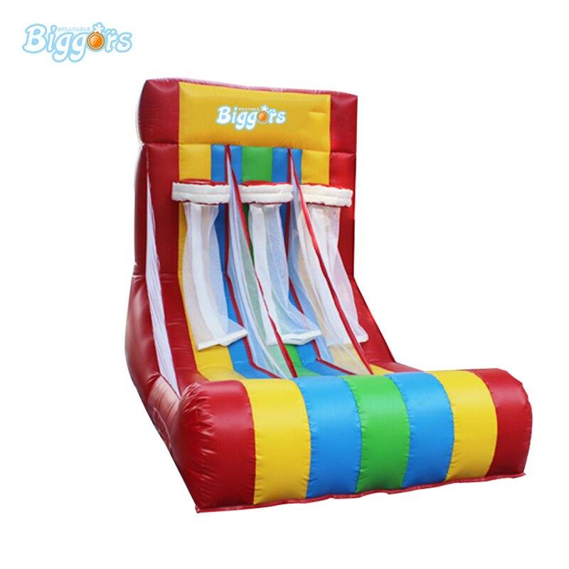 все цены на Inflatable triple Basketball Shoot Hoop inflatable Basketball Hoop Game