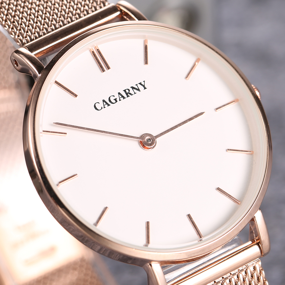 ultra thin quartz watches for women fashion ladies wristwatch drop shipping rose gold steel mesh bracelet watch gifts (8)