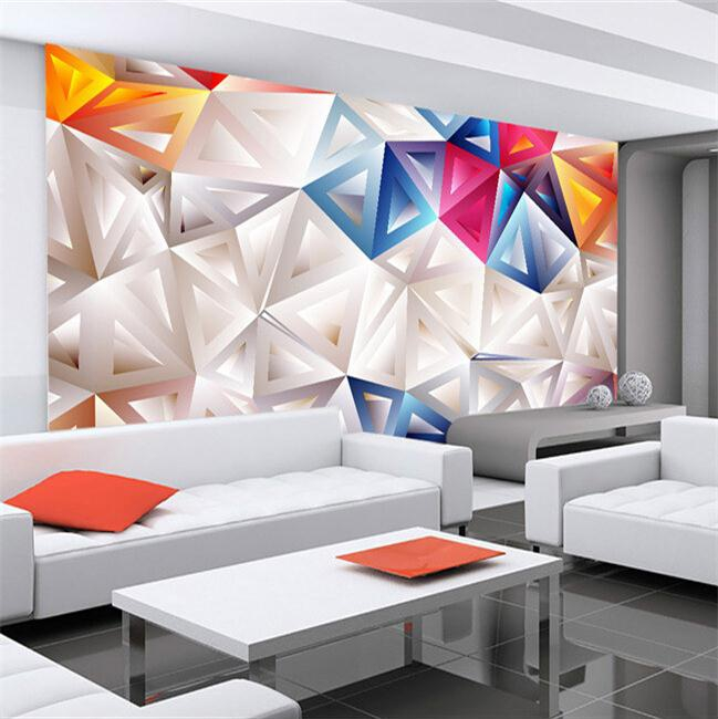 Custom 3d mural 3D modern minimalist geometric personality wallpaper HD custom large wall painting abstract wallpaper mural battlefield 3 или modern warfare 3 что