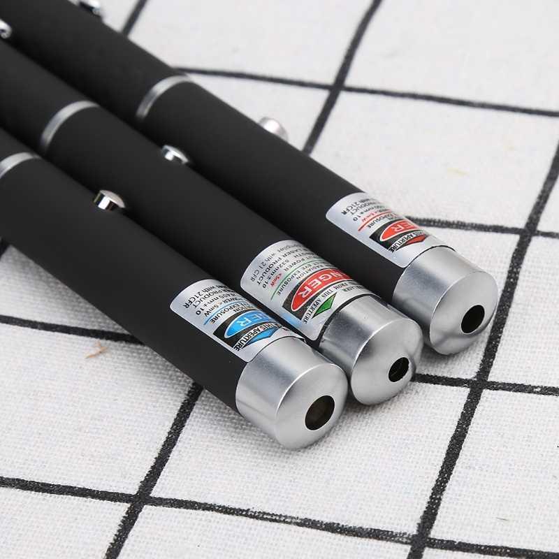 עוצמה אדום כחול ירוק לייזר מצביע עט קרן גלויה אור 5 mW לייזר 650nm