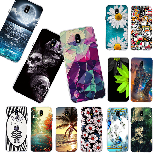 Phone Case For Samsung Galaxy J7 2017 J730F (EU Version) Case Soft TPU Silicone Back Cover for Samsung J7 2017 J730F Cover Coque