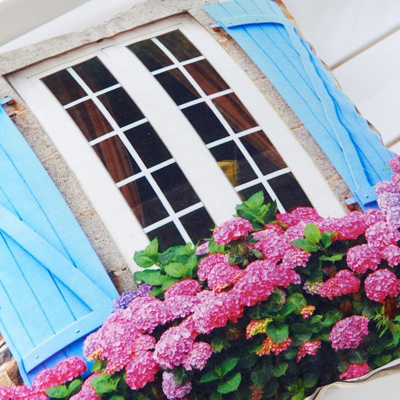 3D Design Flower Window Pillows 2