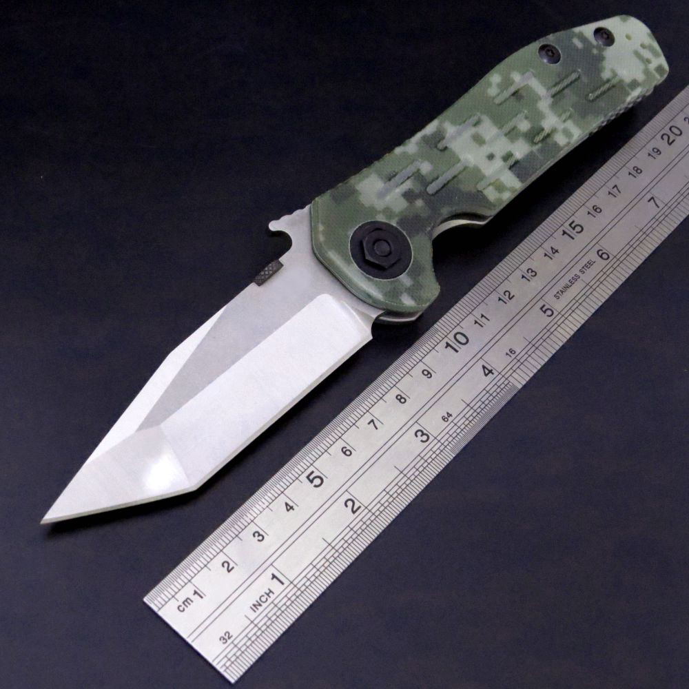Hot sale ZT 0620 Folding Knife 9Cr18mov Blade G10+Steel Handle Bearing Tactical Knife Camping Hunting Outdoor EDC Tool Knives  цены