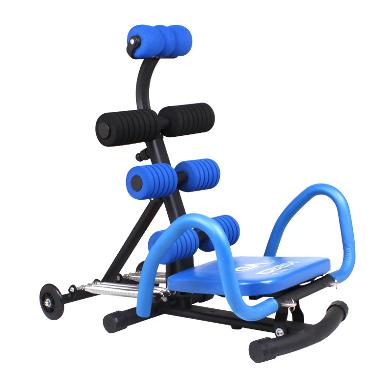 2014 up-dated Abdominal Trainer Strength Training Equipment Home Exercise & Fitness Machine with 6 detachable springs цена
