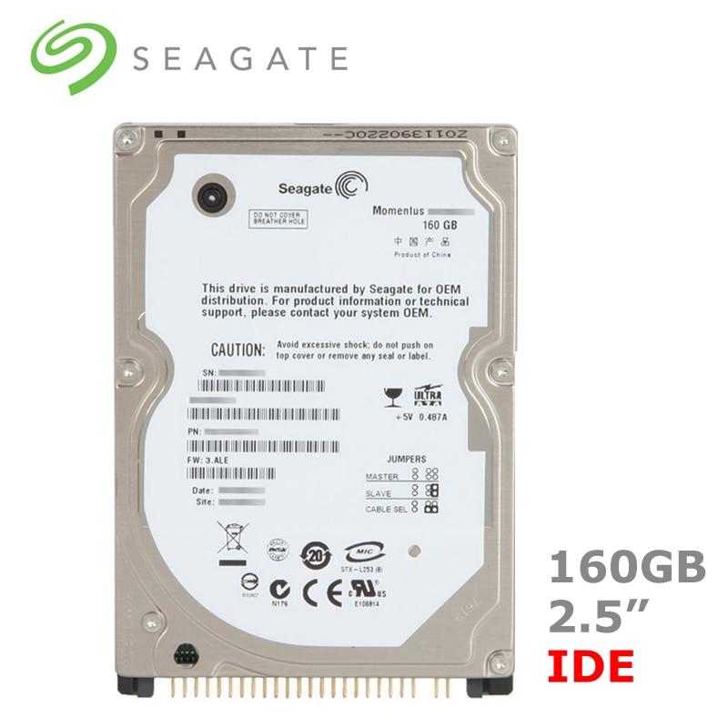 "Seagate 160gb 2.5 ""ide pata 5400-7200rpm hdd, disco rígido interno para computador portátil, notebook, disco duro interno"