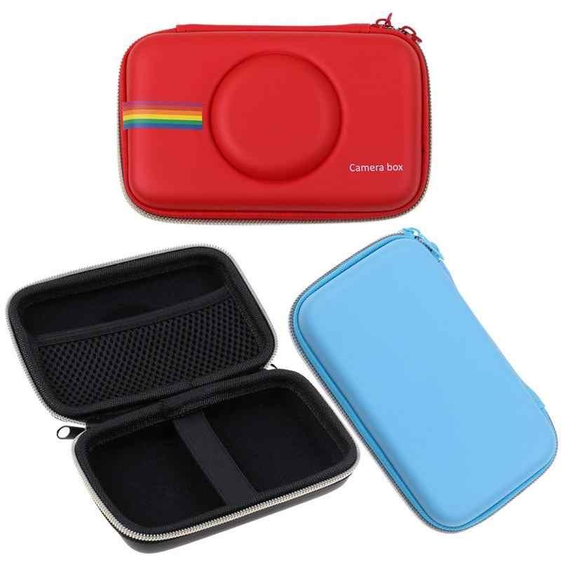 2018 Baru Retro Pelindung EVA Case Penutup Tas Penyimpanan untuk Polaroid Snap Snap Touch Instant Print Kamera Digital