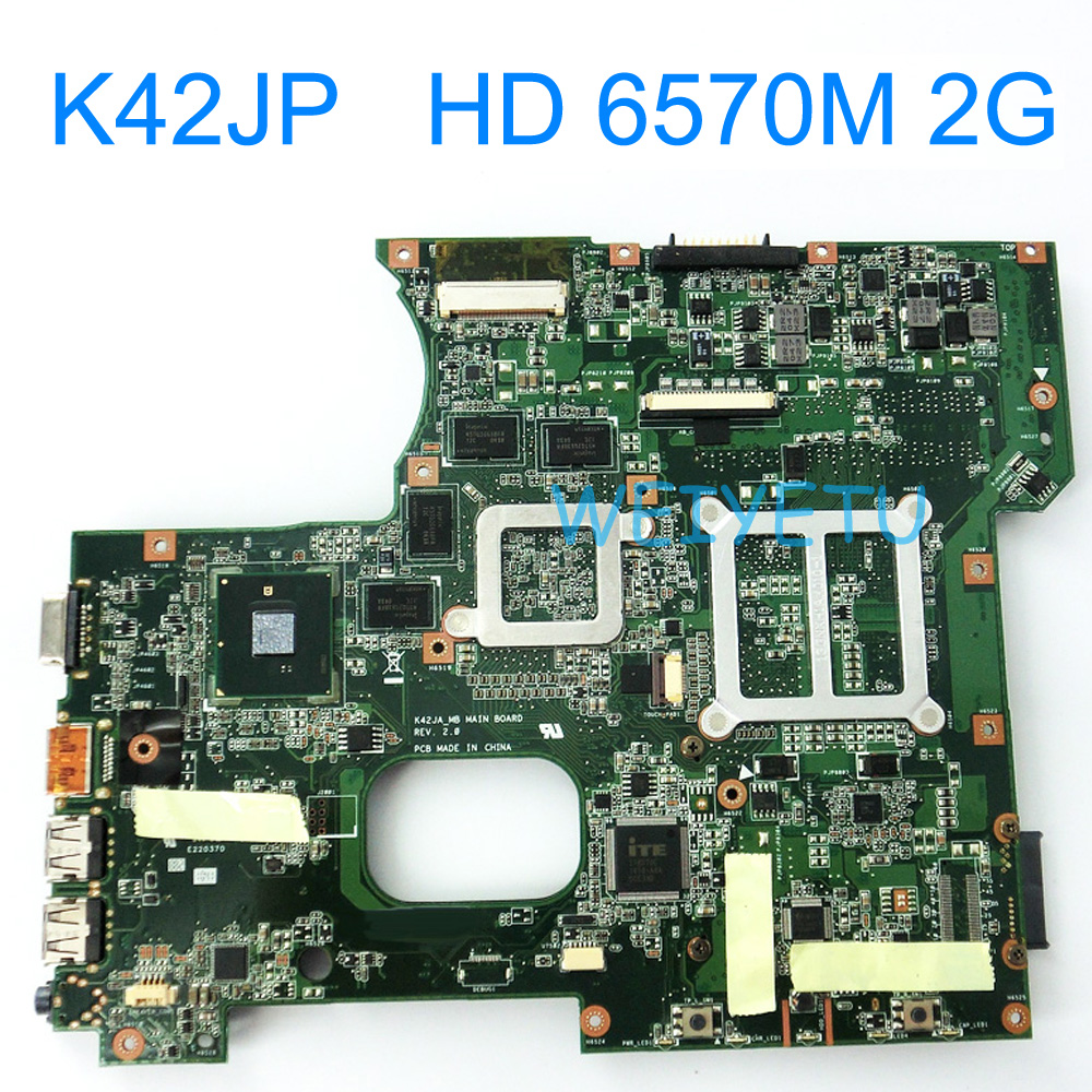 все цены на K42JP With HD 6570M 2G GPU Motherboard For ASUS A42J X42J K42J K42JA Laptop Mainboard REV 2.0 60-N4AMB3000-A04 Tested Works Well онлайн