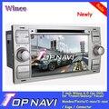 Новые 7 ''double din Wince 6.0 Автомобильный Радиоприемник DVD для Транзита/Galaxy/Focus/Mondeo/Fiesta/C-max/S-max/Kuga/Разъем
