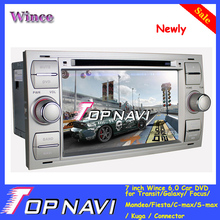 "Newest 7"" double din Wince 6.0 Car Radio DVD for Transit/Galaxy/Focus/Mondeo/Fiesta/C-max/S-max/Kuga/Connector"