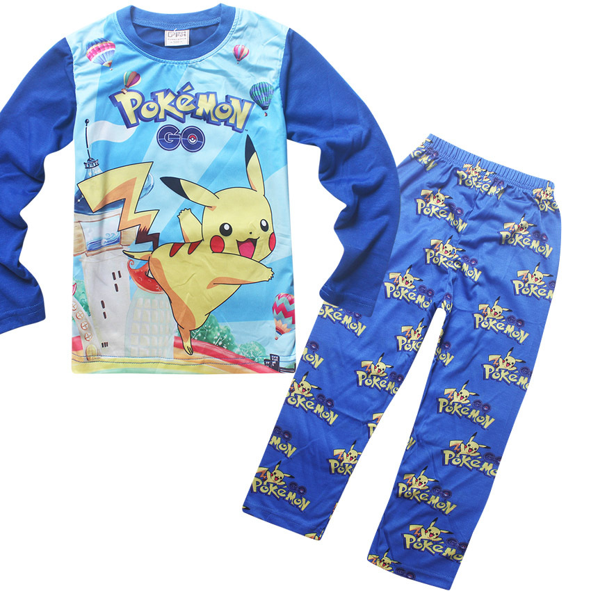 Pokemon Pikachu Hero Poke 4-Piece Pajama Set