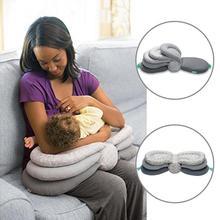 Детские подушки Универсальный кормящих грудью слоистых моющиеся Крышка Регулируемый модельная детская подушка младенческой Кормление Детские Уход