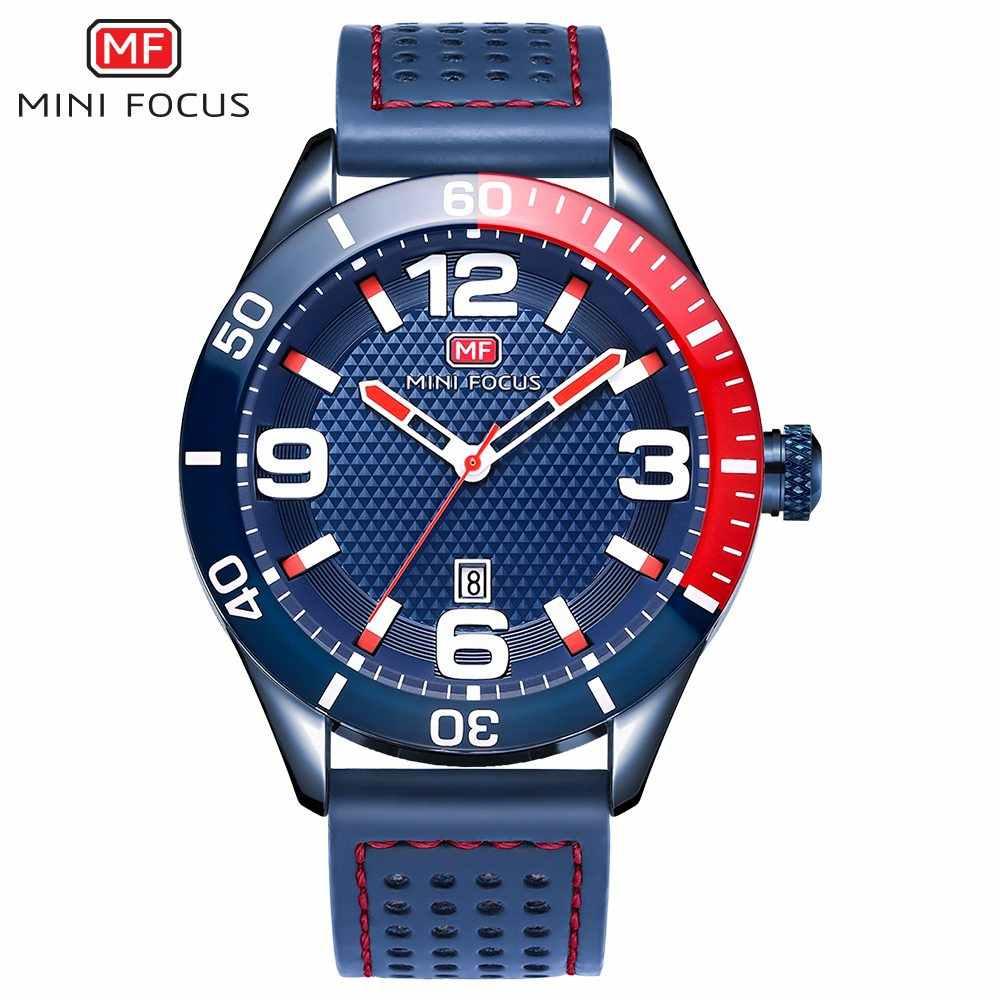 MINI FOCUS marque de luxe montre pour hommes Quartz analogique Date horloge mâle sport montres hommes bracelet en cuir décontracté militaire montre-bracelet