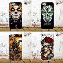 4c5e8b21a Day Of The Dead Pin Up Girl Tattoo Sugar Skull For Xiaomi Redmi 5 4A 3