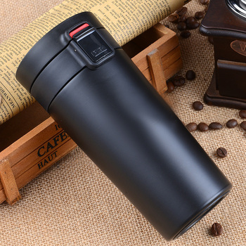 380ml Portable Thermal Flask and Vacuum Mug for Coffee and Tea Made of Stainless Steel