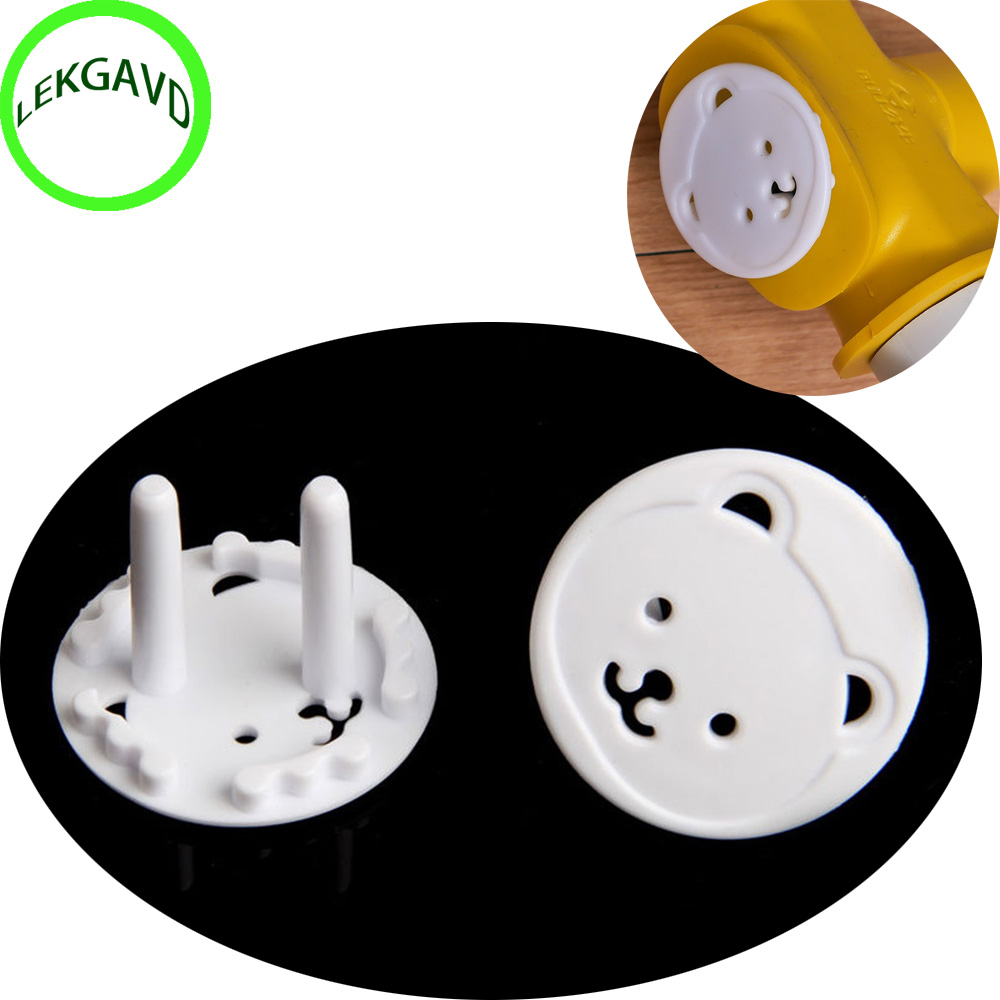 1 X Power Kid Socket Cover Baby Child Protector Guard Mains Point Plug Bear New 12v 2a 22 2w ups uninterrupted power supply 111 x 60 x 26mm backup power mini battery for camera router