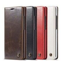 Original CaseMe Brand Leather Case Magnet Flip Phone Cover Holder For Samsung Galaxy A70 A50 A40 A20 A30 KS0278