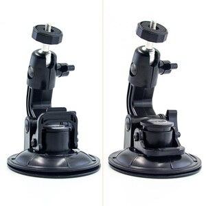Image 3 - 9CM Car Suction Cup For GoPro Hero 7 6 5 4 3 Accessories Tripod Adapter Holder Sucker Xiaomi Yi SJCAM SJ4000 Action Sport Camera